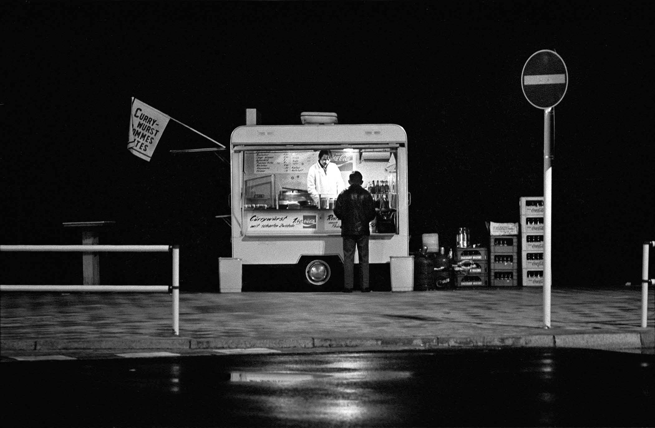 berlin3_21. Currywurst Vendor, West Berlin,1974